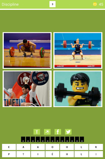 4 Pics 1 Sport
