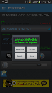 MyRadio USA - screenshot thumbnail