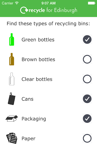 Recycling Edinburgh