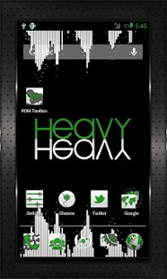 GREEN HEAVY CM10 AOKP CM7+ - screenshot thumbnail