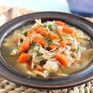 The Best Homemade Chicken Soup.