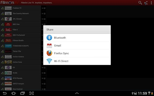 FilmOn EU Live TV Chromecast Screenshot 7