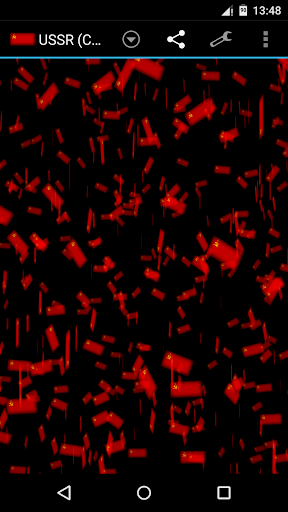 USSR CCCP Storm 3D Wallpaper