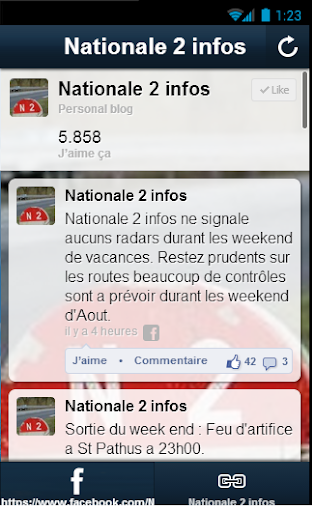 Nationale 2 infos