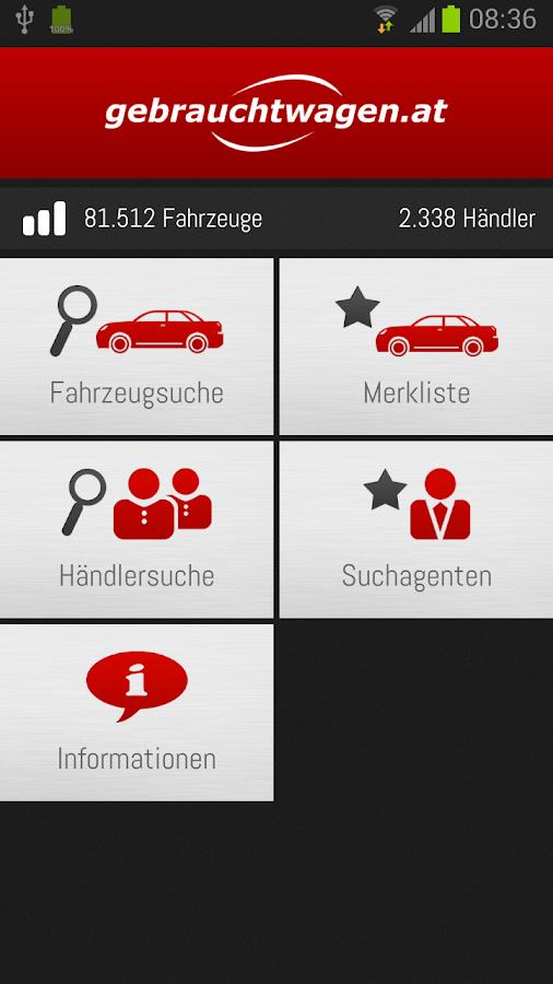 gebrauchtwagen.at - screenshot