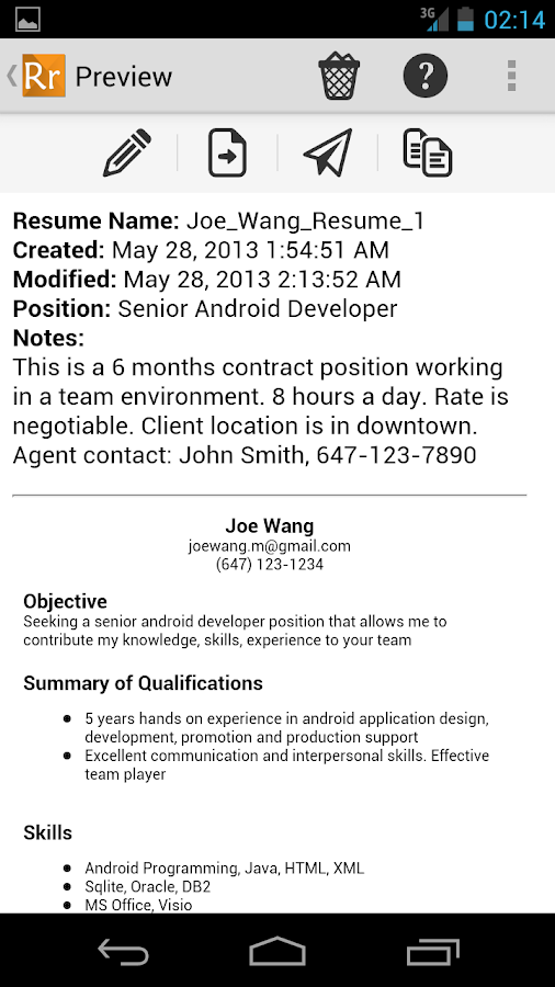 Resume Manager Pro 3 0 download - Soft-Files com