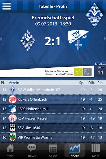 【免費運動App】SV Waldhof Mannheim-APP點子