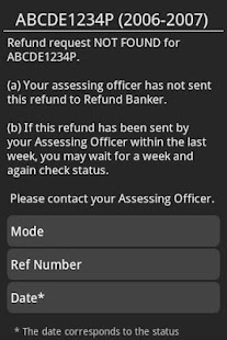 India Income Tax Refund Status- screenshot thumbnail