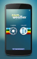 Screenshot of CamWeather