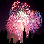 City Fireworks Live Wallpaper