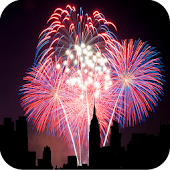 City Fireworks Live Wallpaper