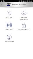 Screenshot of SR - Saarländischer Rundfunk