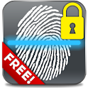 Fingerprint Lock Free logo