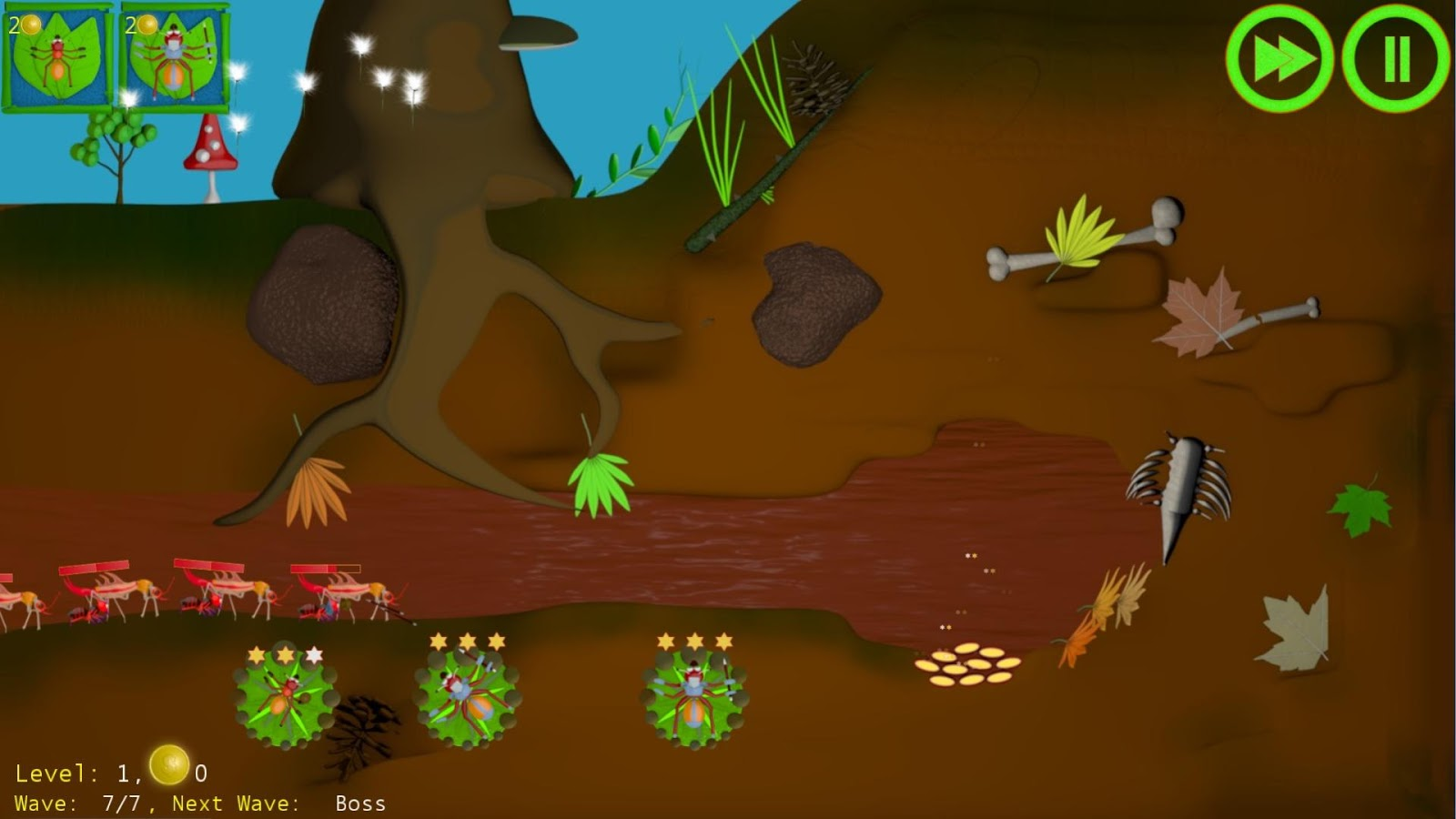 Anthill Defenders Tower Defens- screenshot
