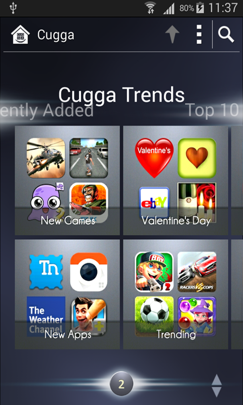 Cugga : Game & App Downloads- screenshot