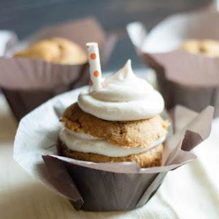 Pumpkin Whoopie Pie Cupcakes.