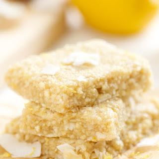 Lemon Meringue Pie Energy Bars