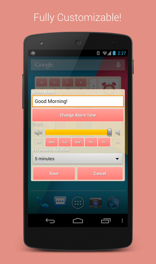 Quickest Alarm & Timer Widget - screenshot