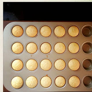 Mini Sweet Corn Snack Muffins.