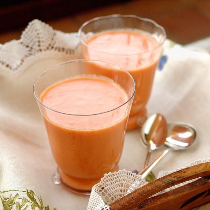 Peach Gazpacho Recipe