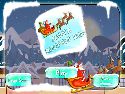 Santa Claus Rooftop Run FULL 冒險 App-愛順發玩APP