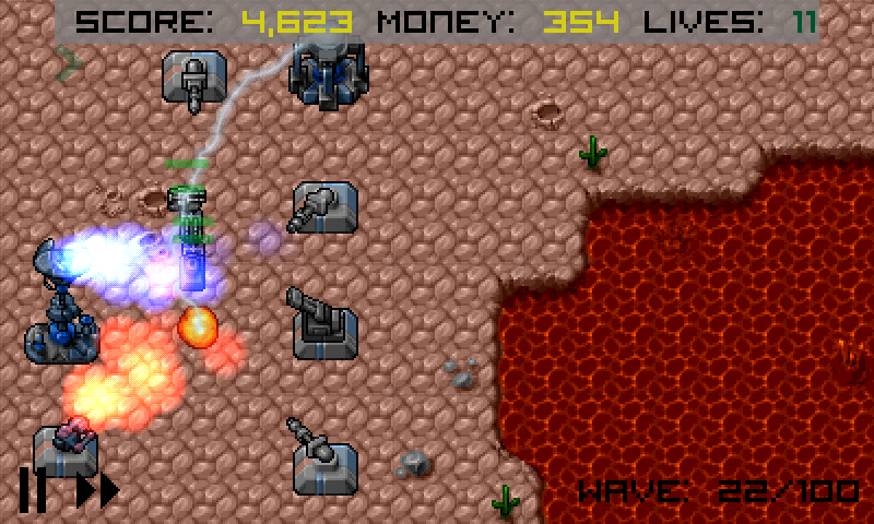 Heavy Defense - screenshot