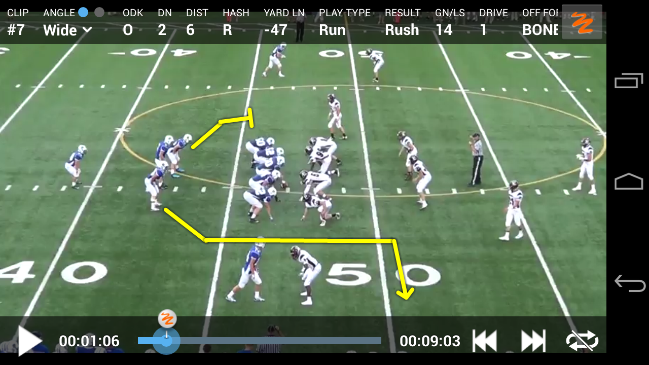 Hudl - screenshot