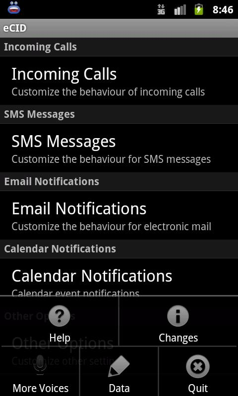 Enhanced SMS & Caller ID+ - screenshot