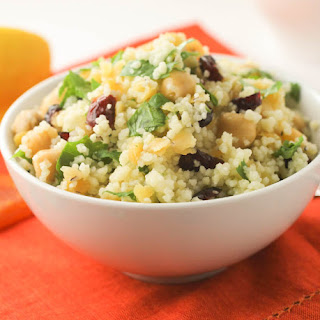 Couscous, Lentil and Chickpea Salad #SundaySupper