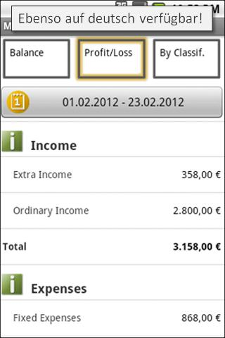 FinanceApp - screenshot