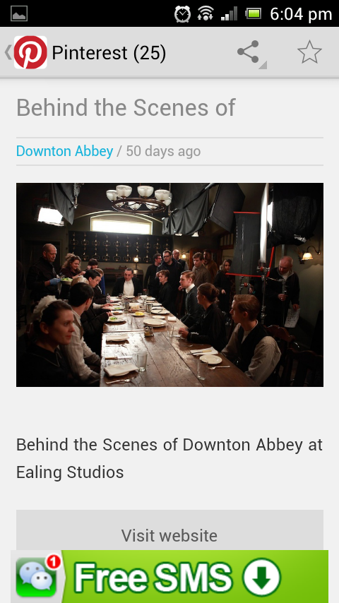 Downton Abbey Fan Portal - screenshot