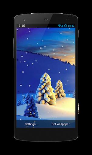 Snowfall Live Wallpaper Free