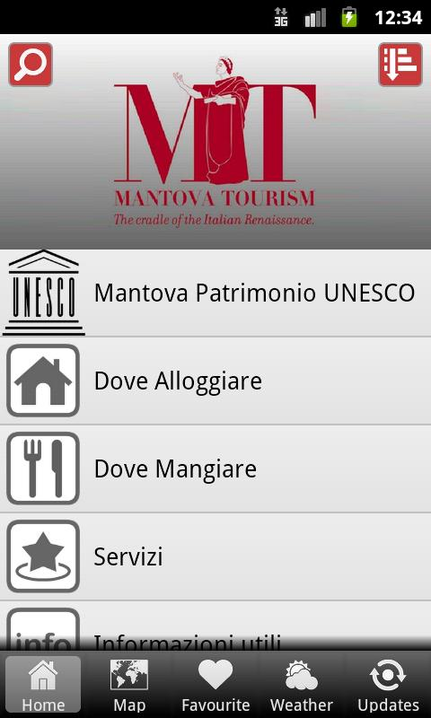 Mantova Tourism- screenshot
