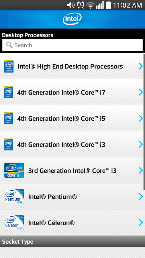 Intel Channel Products Guide- screenshot