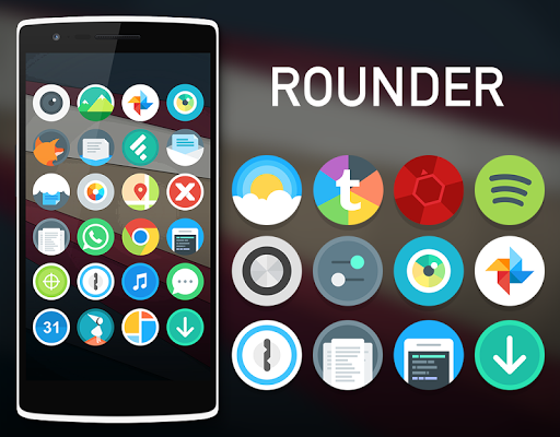 Rounder Icon Pack For Solo