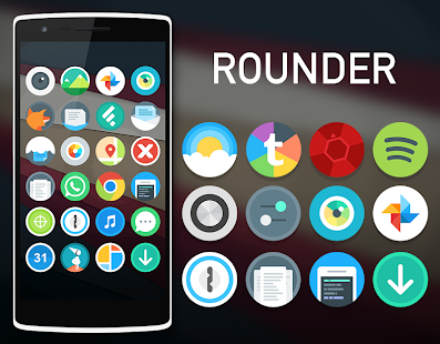 玩個人化App|Rounder Icon Pack For Solo免費|APP試玩