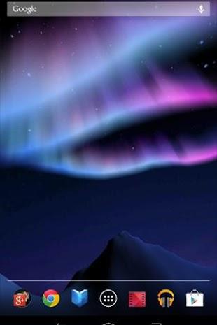 Aurora 3D Live Wallpaper- screenshot thumbnail