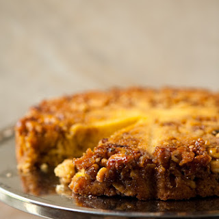 Bourbon Walnut Cornmeal Cake