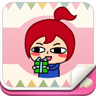 Red Girl Animation for SayHi icon