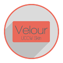 Velour Clock LITE (UCCW Skin) icon