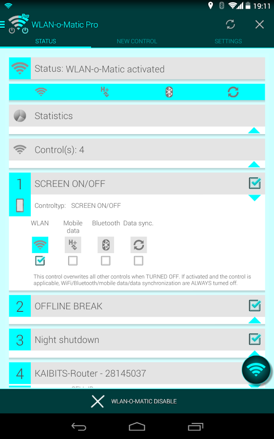 WiFi-o-Matic Pro- screenshot