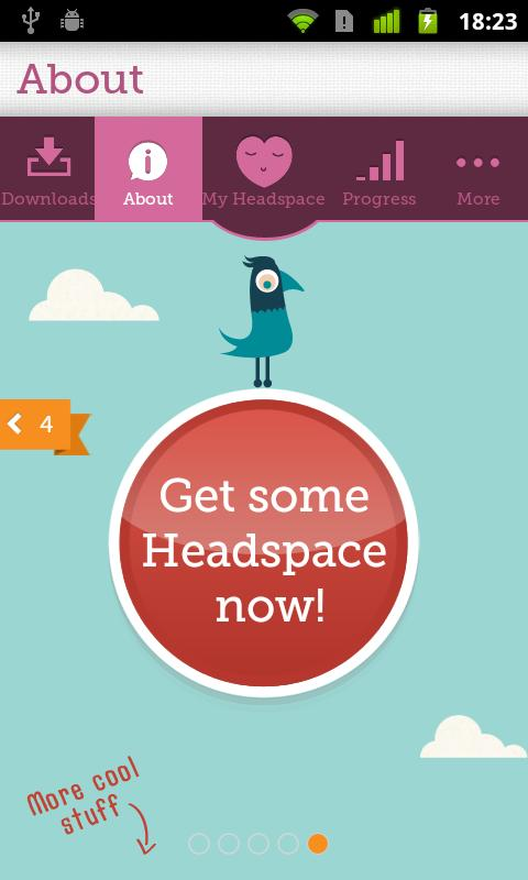 Headspace (on-the-go) - screenshot