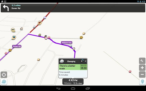 Waze - GPS, Maps & Traffic Screenshot 16