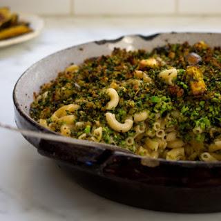 Broccoli-Basil Mac and Cheese.