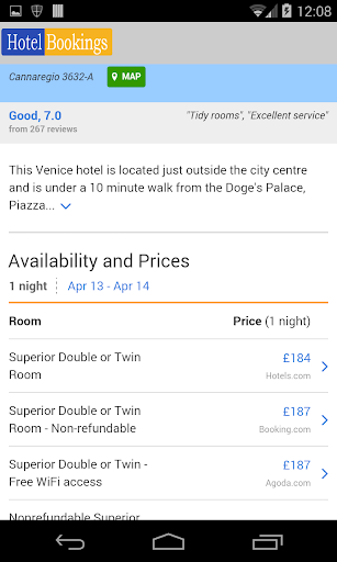 【免費旅遊App】Venice Hotel & Guide-APP點子