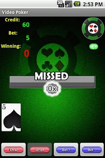 Video Poker- screenshot thumbnail
