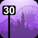 Disneyland Wait Times logo