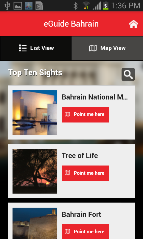 eGuide Bahrain- screenshot