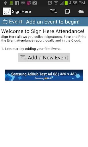 Sign Here - Attendance