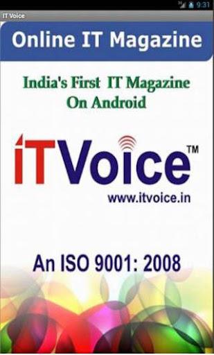 IT Voice News August